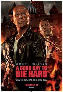 good die to die hard poster