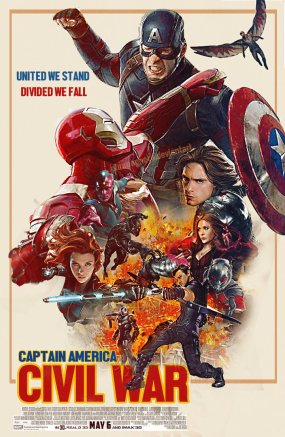 Punmagneto Captain America Civil War Poster